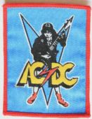 AC/DC - 'Angus Guitar' Woven Patch